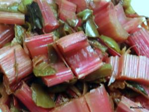 poivron et bettes rouges