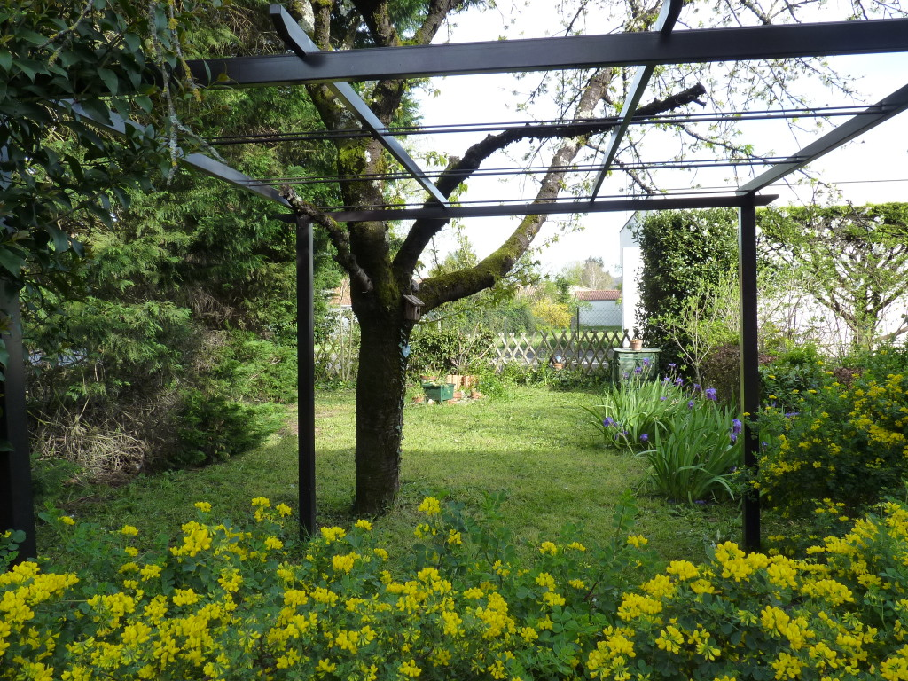 "Le jardin ""avant"""