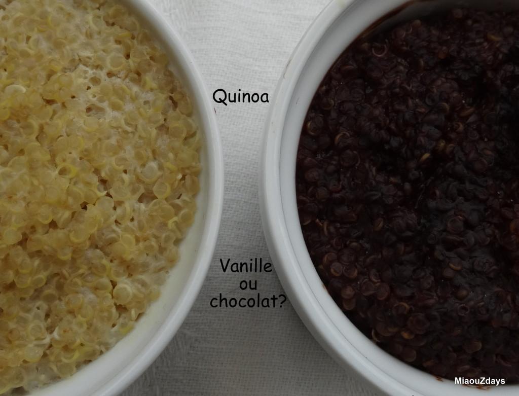 Quinoa au lait végétal