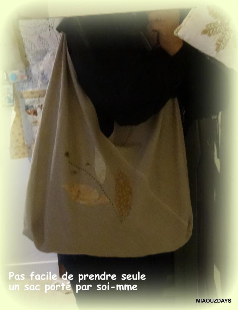 sac triangle porté