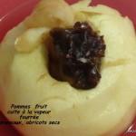 Pomme fourées aux fruits secs