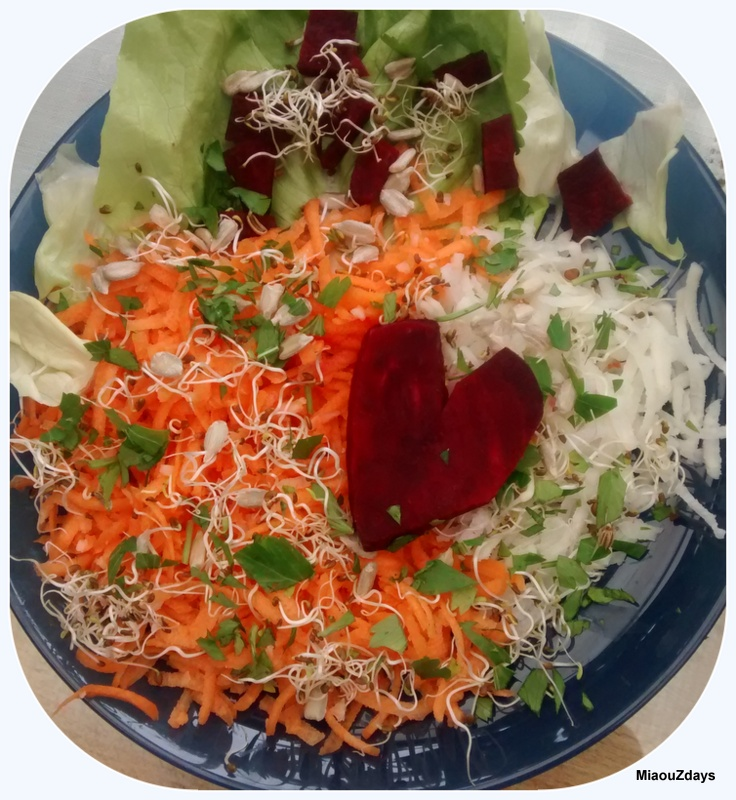Salade de Saint Valentin