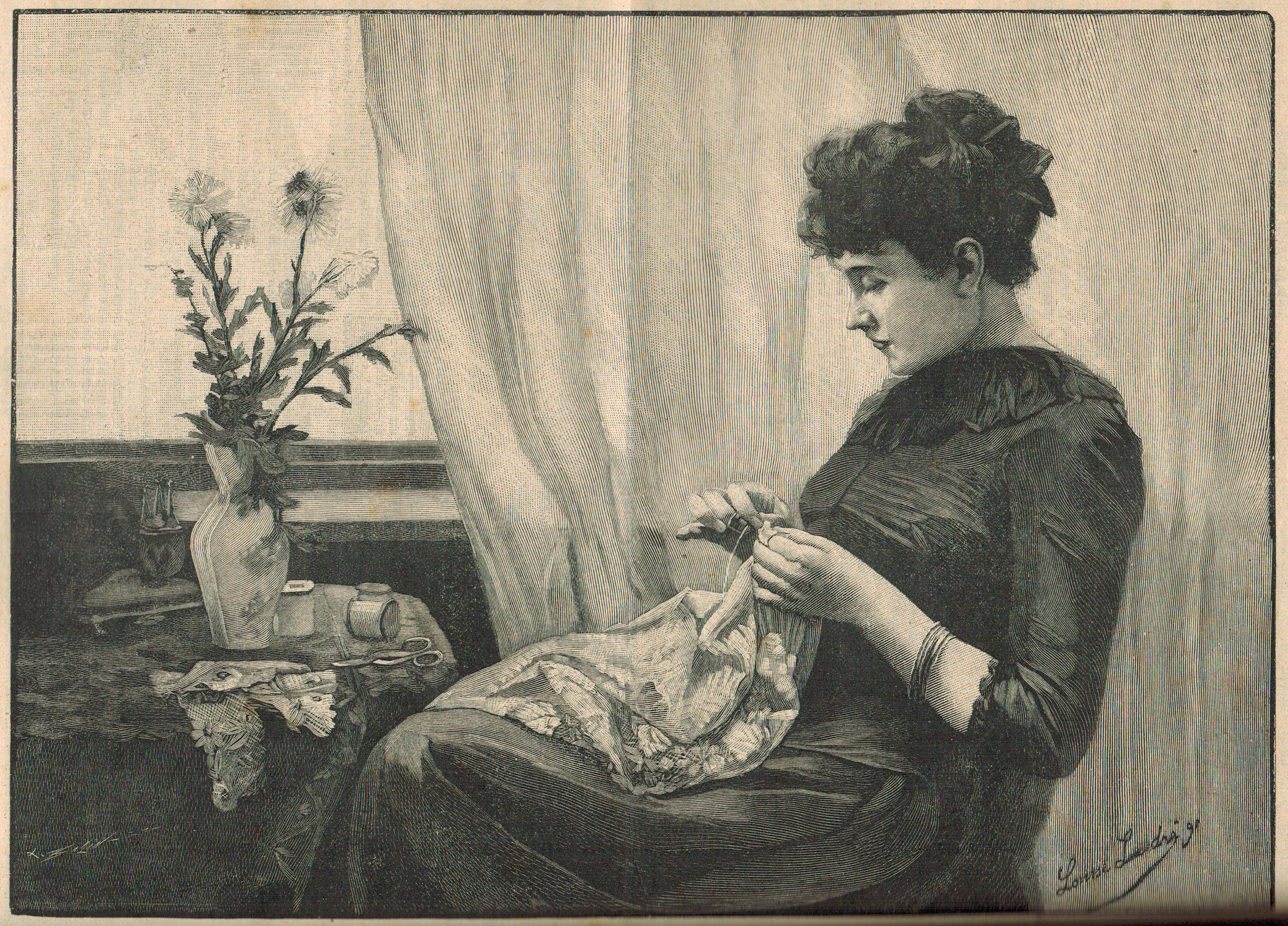 LA FAMILLE 1894 L'ouviere Parisienne