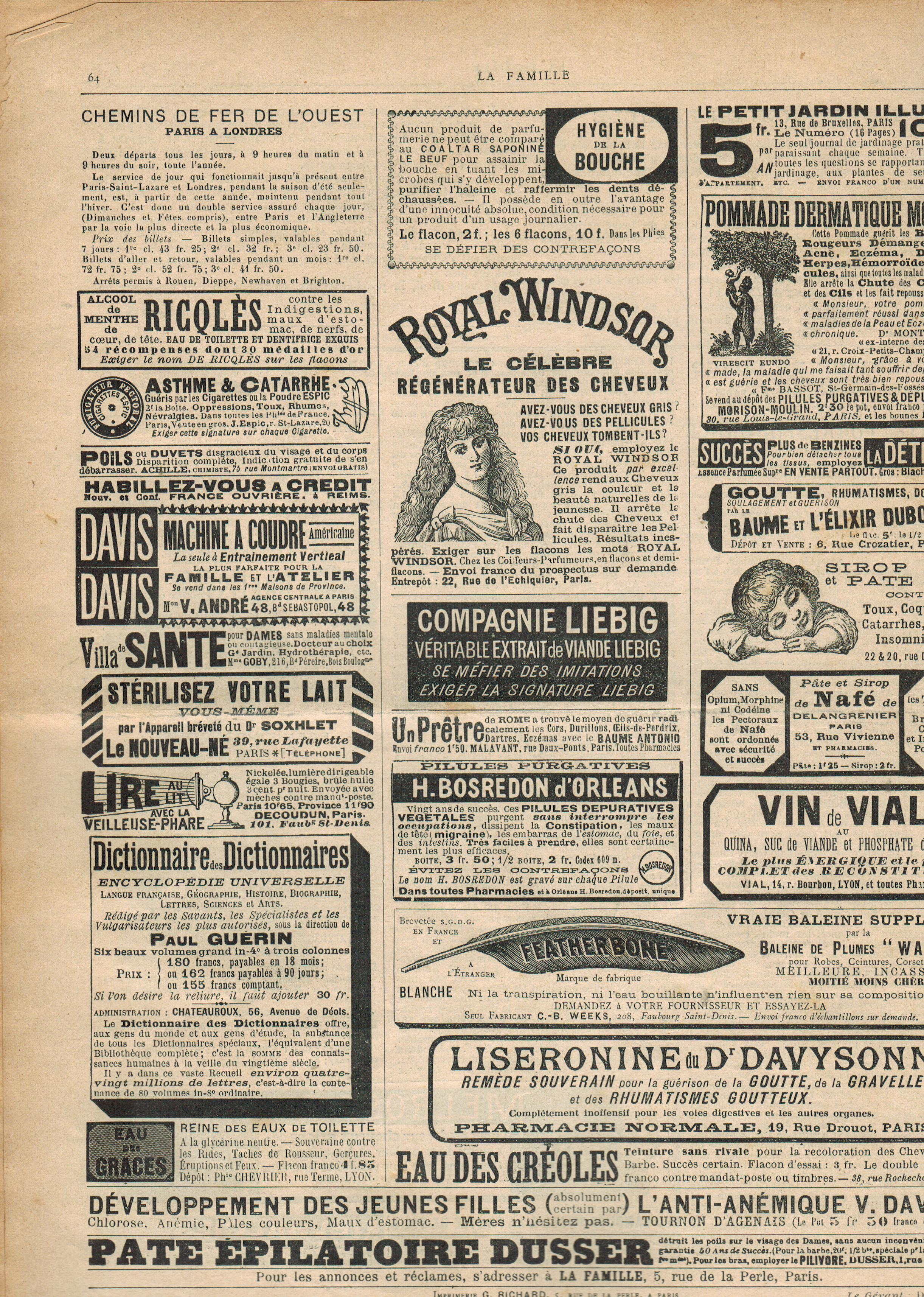 LA FAMILLE Pderniere 28 01 1894