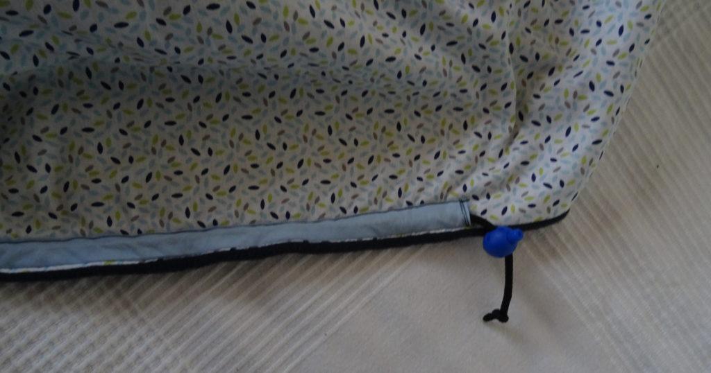 couverture de portage glissiere